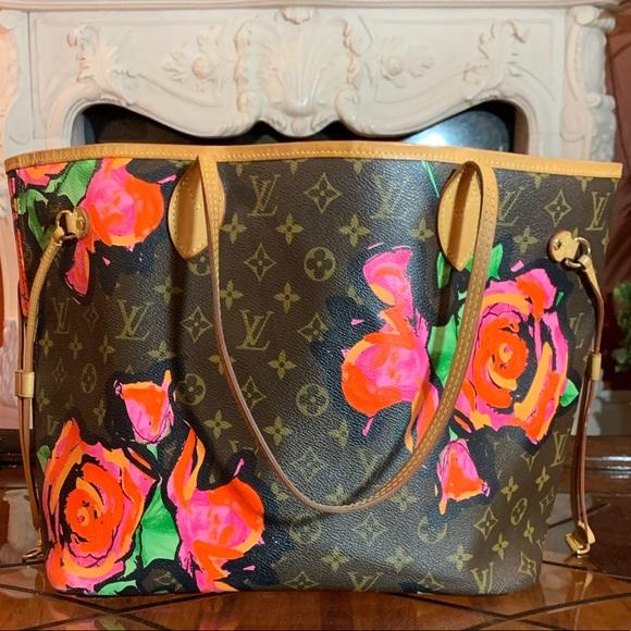 51f9dba2c47f Louis Vuitton Handbags - Authentic LV Steven Sprouse Neverfull MM